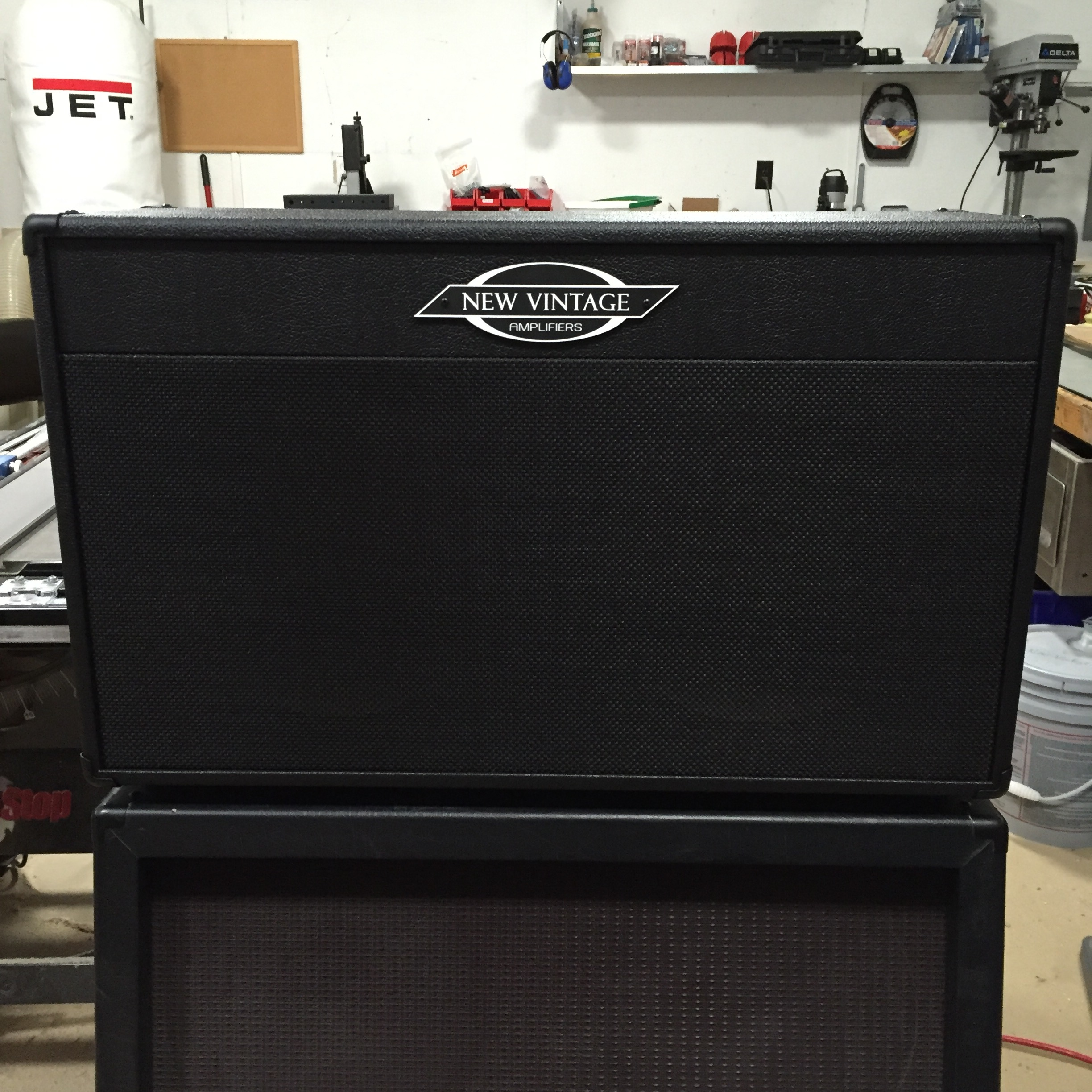 NV2X12G-shown in black levant tolex & black weave grill